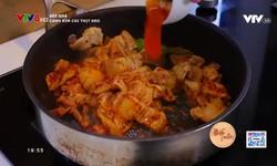 Bếp nhà: Canh kim chi thịt heo