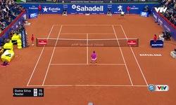Vòng 2 Barcelona Open 2017: Nadal 2-0 Silva (6/1, 6/2)