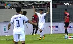 Phút 58: Worachit mở tỷ số (U22 Thái Lan 1-0 U22 Timor Leste)
