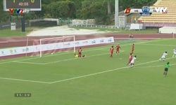 Phút 41: ĐT nữ Thái Lan gỡ hòa 1-1