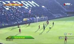 Phút 39: U23 Thái Lan 0-2 U23 Việt Nam (Tiến Dũng cản phá thành công phạt đền)