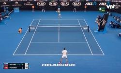 Vòng 1 Australia mở rộng 2018: Federer đánh bại Bedene