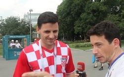 CĐV Croatia trả lời phỏng vấn khẳng định đội nhà sẽ vô địch World Cup 2018