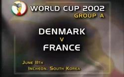 World Cup 2002: Pháp 0-2 Đan Mạch
