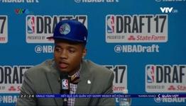 Markelle Fultz được chọn đầu tiên ở NBA Draft 2017
