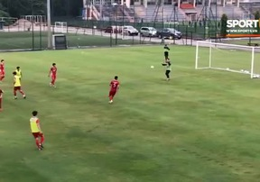 Đội tuyển Việt Nam đá đối kháng lần đầu tiên | AFF Cup 2018