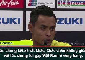 Cầu thủ Malaysia nhắc lại ký ức SEA Games để cảnh báo tuyển Việt Nam