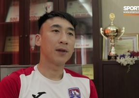 Tiền vệ Nguyễn Hải Huy chia sẻ bí quyết để có phong độ tốt tại V.League 2019