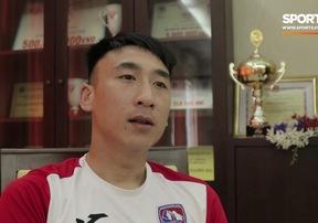Nguyễn Hải Huy nói về vai trò trụ cột của các đồng đội tại CLB Than Quảng Ninh