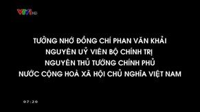 Lễ truy điệu và an táng đồng chí Phan Văn Khải, nguyên Ủy viên Bộ Chính trị, nguyên Thủ tướng Chính phủ nước Cộng hòa xã hội chủ nghĩa Việt Nam - Phần 1