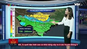 Bản tin thời tiết 12h30 - 24/8/2017