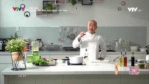 Bếp nhà: Nghêu sốt rau mùi nước cốt dừa