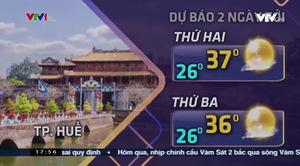 Bản tin thời tiết 18h - 18/8/2019
