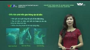 Chinh phục kỳ thi THPT QG - 17/6/2017