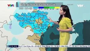 Bản tin thời tiết 19h45 - 04/4/2020