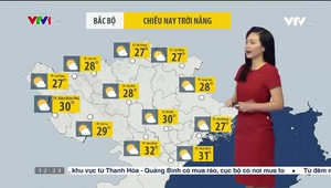 Bản tin thời tiết 12h30 - 20/10/2021