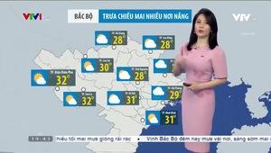 Bản tin thời tiết 19h45 - 14/4/2021