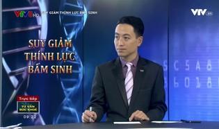Tư vấn sức khỏe: Suy giảm thính lực bẩm sinh