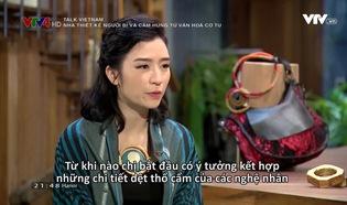 Talk Vietnam: Nhà thiết kế người Bỉ và cảm hứng từ văn hoá Cơ Tu