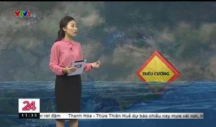 Bản tin thời tiết 11h30 - 23/01/2019