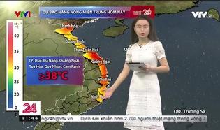 Bản tin thời tiết 11h30 - 18/8/2019