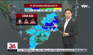 Bản tin thời tiết 18h45 - 19/9/2021