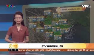 Bản tin thời tiết 5h30 - 19/9/2021