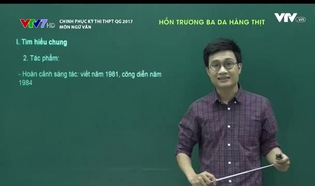 Chinh phục kỳ thi THPT QG - 13/6/2017