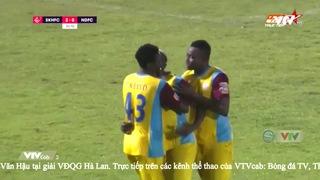 Sanna Khánh Hòa BVN 2-0 DNH Nam Định: Youssouf Toure nhân đôi cách biệt (57')