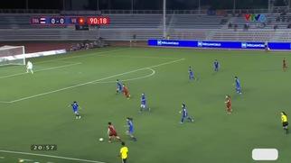 Tuyển nữ Việt Nam 1-0 Thái Lan: Hải Yến xuất sắc lập công.