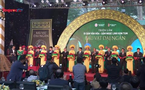 Giới thiệu di sản văn hóa Kon Tum, báu vật Việt Nam Sâm Ngọc Linh giữa lòng Hà Nội