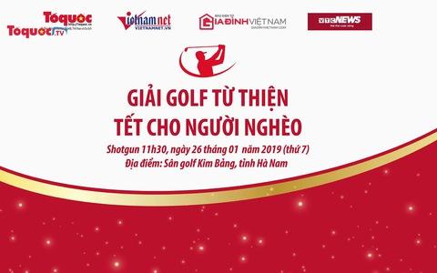 Giải Golf từ thiện ''Tết cho người nghèo''