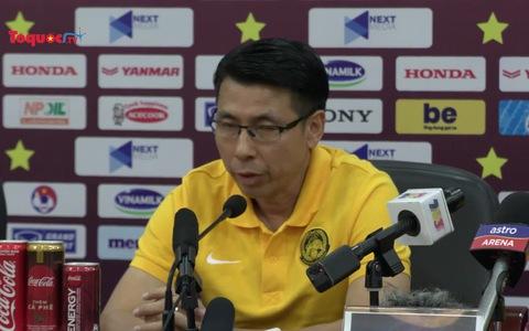 Phóng viên Việt Nam nhắc lại trận đấu thua đau của ĐTQG Malaysia và phản ứng bất ngờ của HLV Tan Cheng Hoe