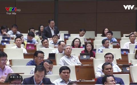ĐB Lưu Bình Nhưỡng Nhân: Công tác cán bộ quản lí thị trường chưa hoàn thiện,