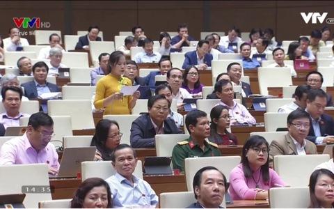 Clip: Đại biểu đề nghị Bộ trưởng Lê Vinh Tân công khai các trường hợp bổ nhiệm sai