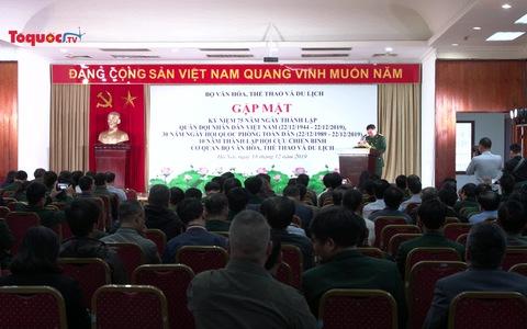 Bộ trưởng Nguyễn Ngọc Thiện gặp mặt và thăm hỏi Hội Cựu chiến binh Bộ VHTTDL