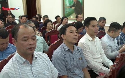 Hội nghị chuyên đề 50 năm thực hiện di chúc Chủ tịch Hồ Chí Minh