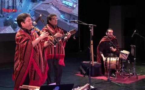 Hội ngộ ban nhạc Apu Inka trong chương trình