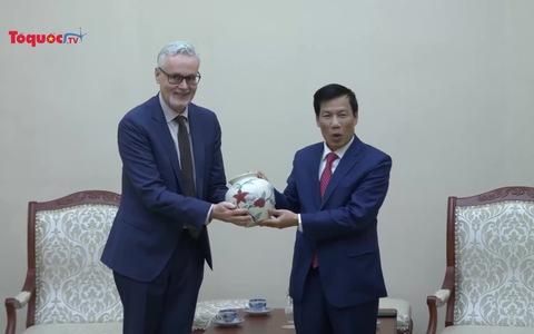 Tăng cường hợp tác VHTTDL giữa CHLB Đức và Việt Nam