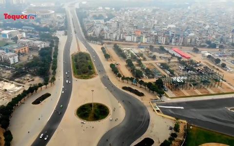 Tạm tháo dỡ các khán đài F1 tại Hà Nội