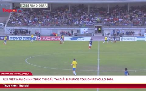 U21 Việt Nam chính thức thi đấu tại giải Maurice Toulon Revello 2020