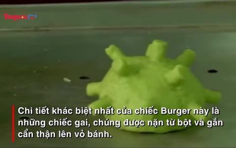 Burger hình Corona, bạn đã thử chưa?