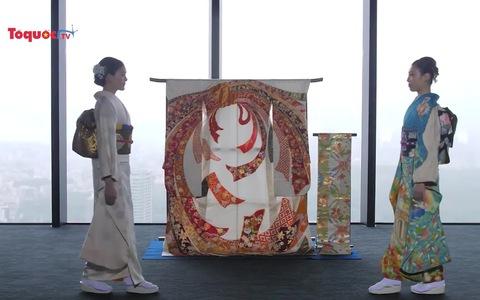 Kimono dành riêng cho Việt Nam xuất hiện trong dự án Olympic