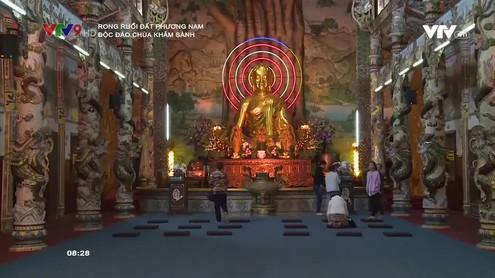 Rong ruổi đất phương Nam: Độc đáo chùa Khảm Sành