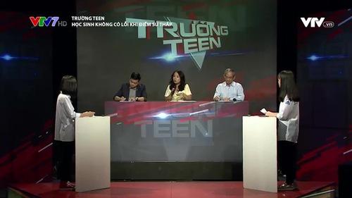 Trường Teen: Học sinh không có lỗi khi điểm Sử thấp