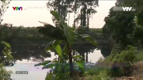 Ô nhiễm nguồn nước mặt từ việc xả thải không qua xử lý