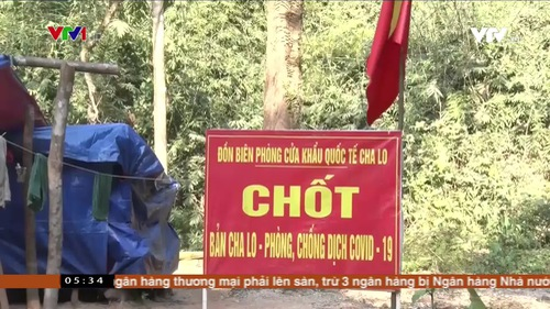 Phối hợp phòng chống tội phạm và dịch COVID-19 qua biên giới