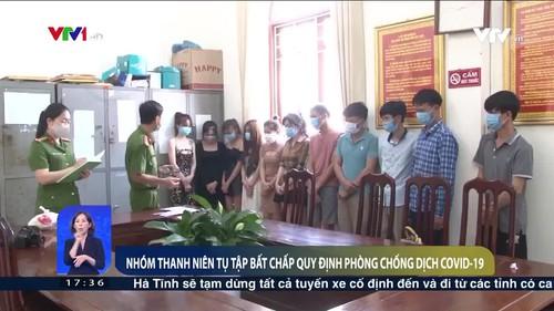 11 thanh niên tụ tập hát karaoke, sử dụng ma túy