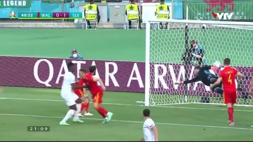 Xứ Wales 0-1 Thụy Sĩ: Embolo mở tỉ số trận đấu (49')