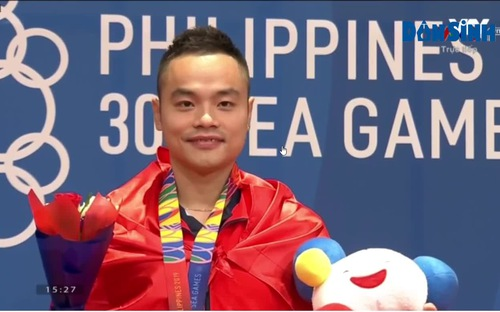 Huy chương Vàng đầu tiên cho Wushu Việt Nam ở Seagames 30